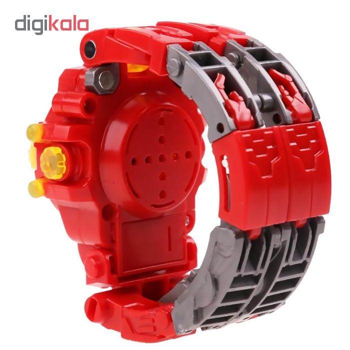 ربات ترنسفورمر طرح ساعت کد 105000163 main 1 3