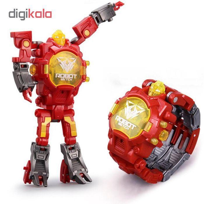 ربات ترنسفورمر طرح ساعت کد 105000163 main 1 5