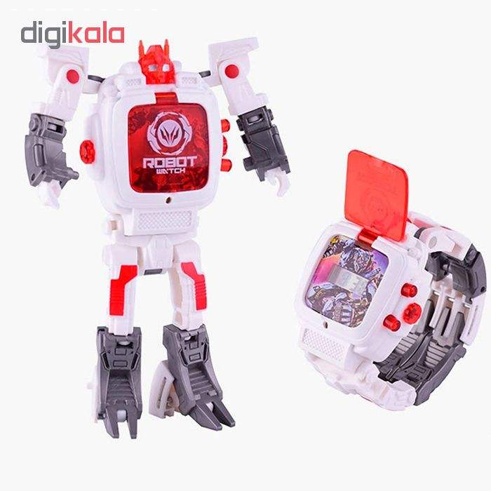 ربات ترنسفورمر طرح ساعت کد 105000163 main 1 6