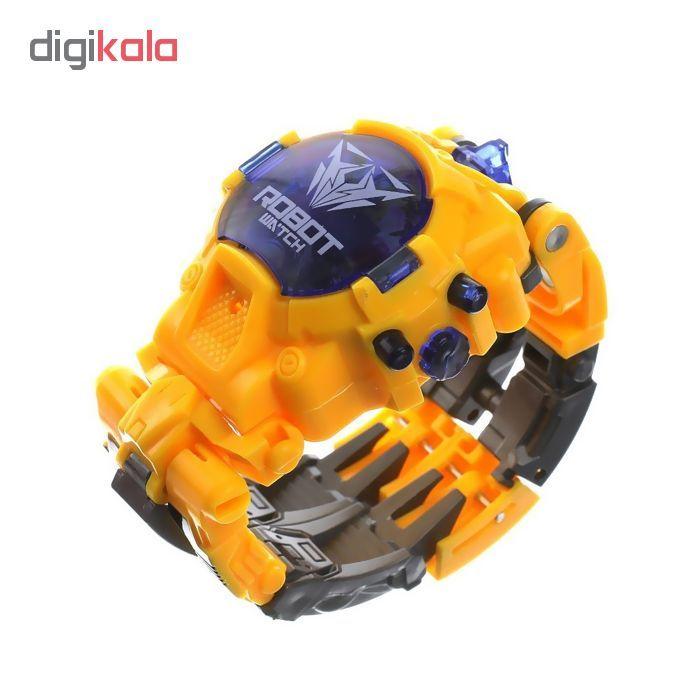 ربات ترنسفورمر طرح ساعت کد 105000163 main 1 7