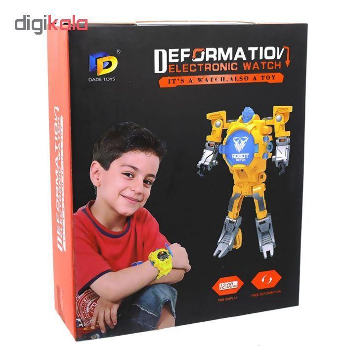 ربات ترنسفورمر طرح ساعت کد 105000163 main 1 9