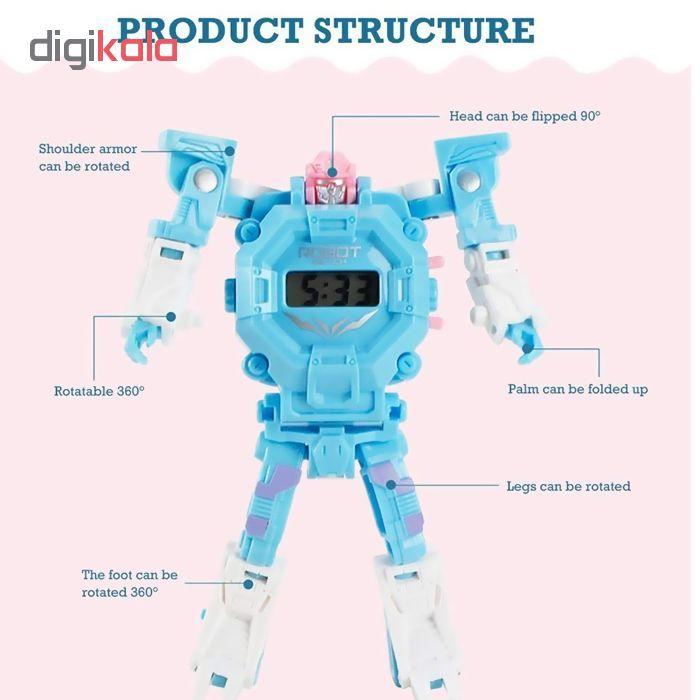ربات ترنسفورمر طرح ساعت کد 105000163 main 1 12