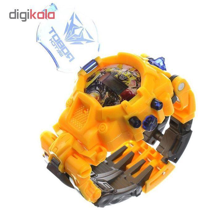 ربات ترنسفورمر طرح ساعت کد 105000163 main 1 13