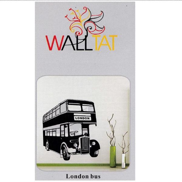 استیکر دیواری والتت طرح اتوبوس