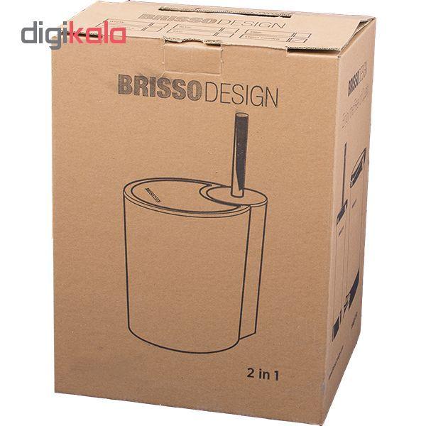 ست سطل زباله و فرچه بریسو دیزاین مدل brz main 1 4
