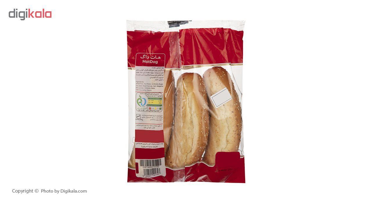 نان هات داگ نان آوران مقدار 200 گرم main 1 2