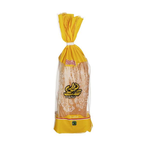 نان تست سفید دیلی نان آوران مقدار 240 گرم