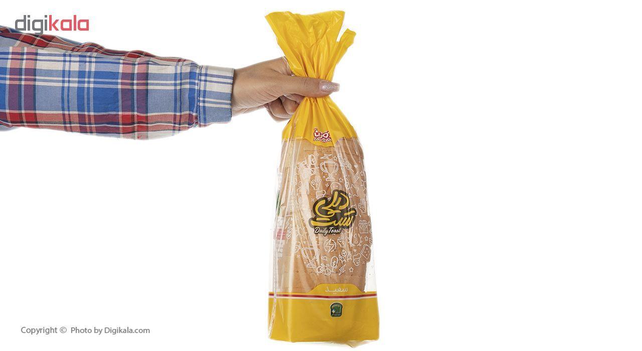 نان تست سفید دیلی نان آوران مقدار 240 گرم main 1 5