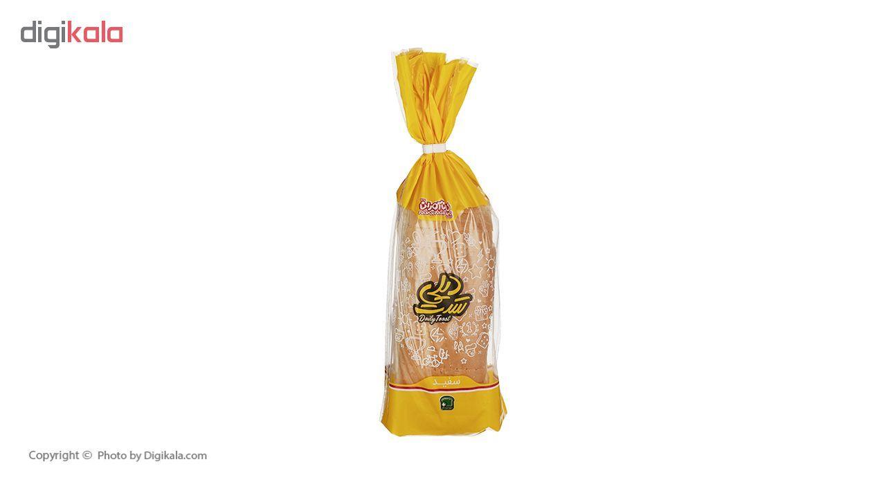 نان تست سفید دیلی نان آوران مقدار 240 گرم main 1 1