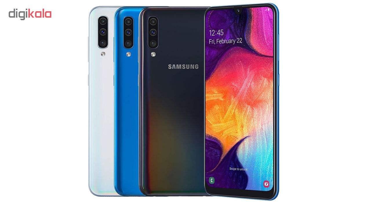 گوشی موبایل سامسونگ مدل Galaxy A50 SM-A505F/DS دو سیم کارت ظرفیت 128گیگابایت main 1 10