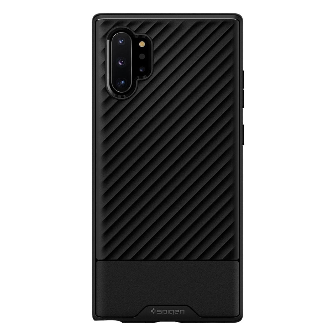 بررسی و {خرید با تخفیف} کاور اسپیگن مدل Core Armor مناسب برای گوشی موبایل سامسونگ Galaxy Note 10 Plus اصل