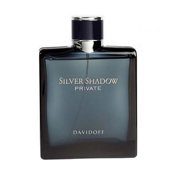 ادو تویلت مردانه داویدف مدل silver shadow حجم 100 میلی لیتر