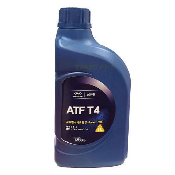 روغن موتور خودرو موبیس مدل ATF T4-170 ظرفیت 1000 میلی لیتر