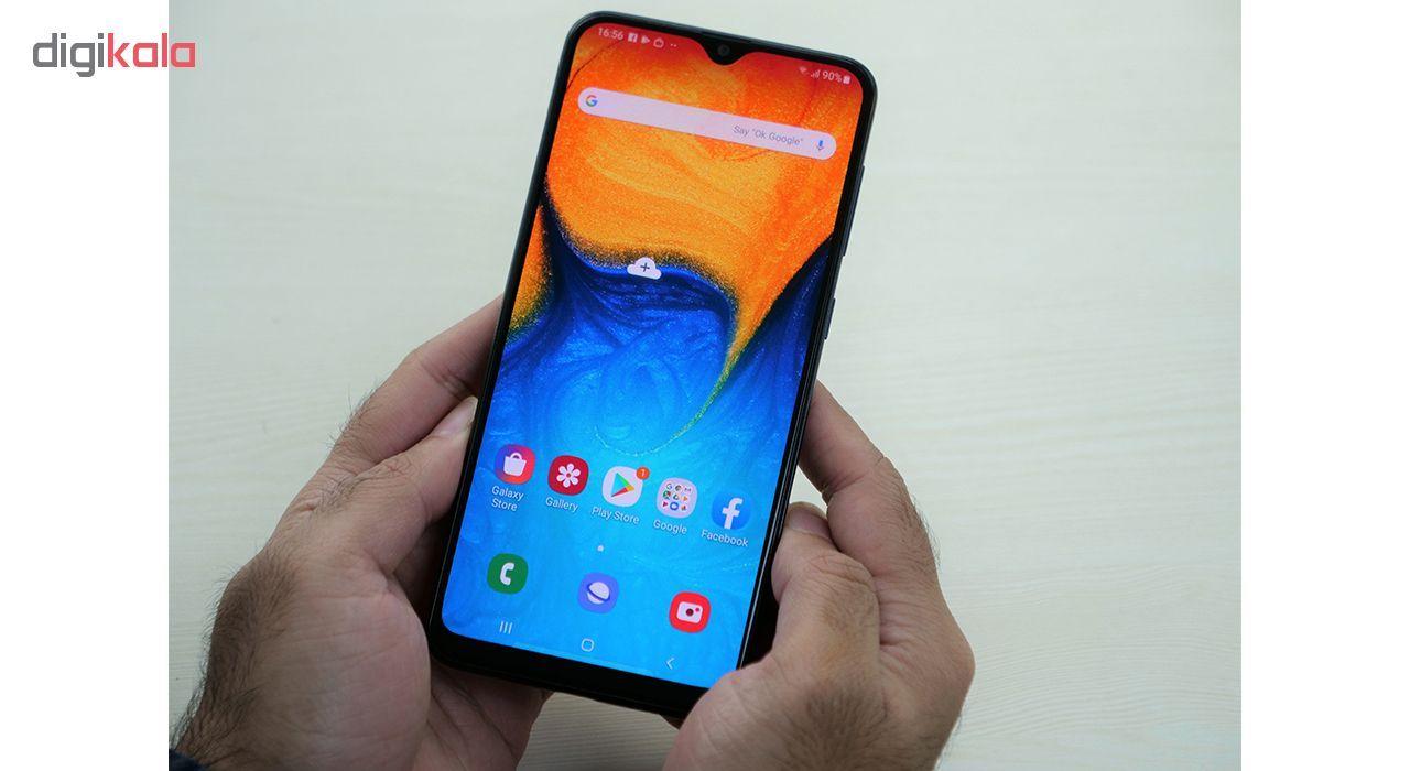 گوشی موبایل سامسونگ مدل Galaxy A20 SM-A205F/DS دو سیم کارت ظرفیت 32گیگابایت main 1 8