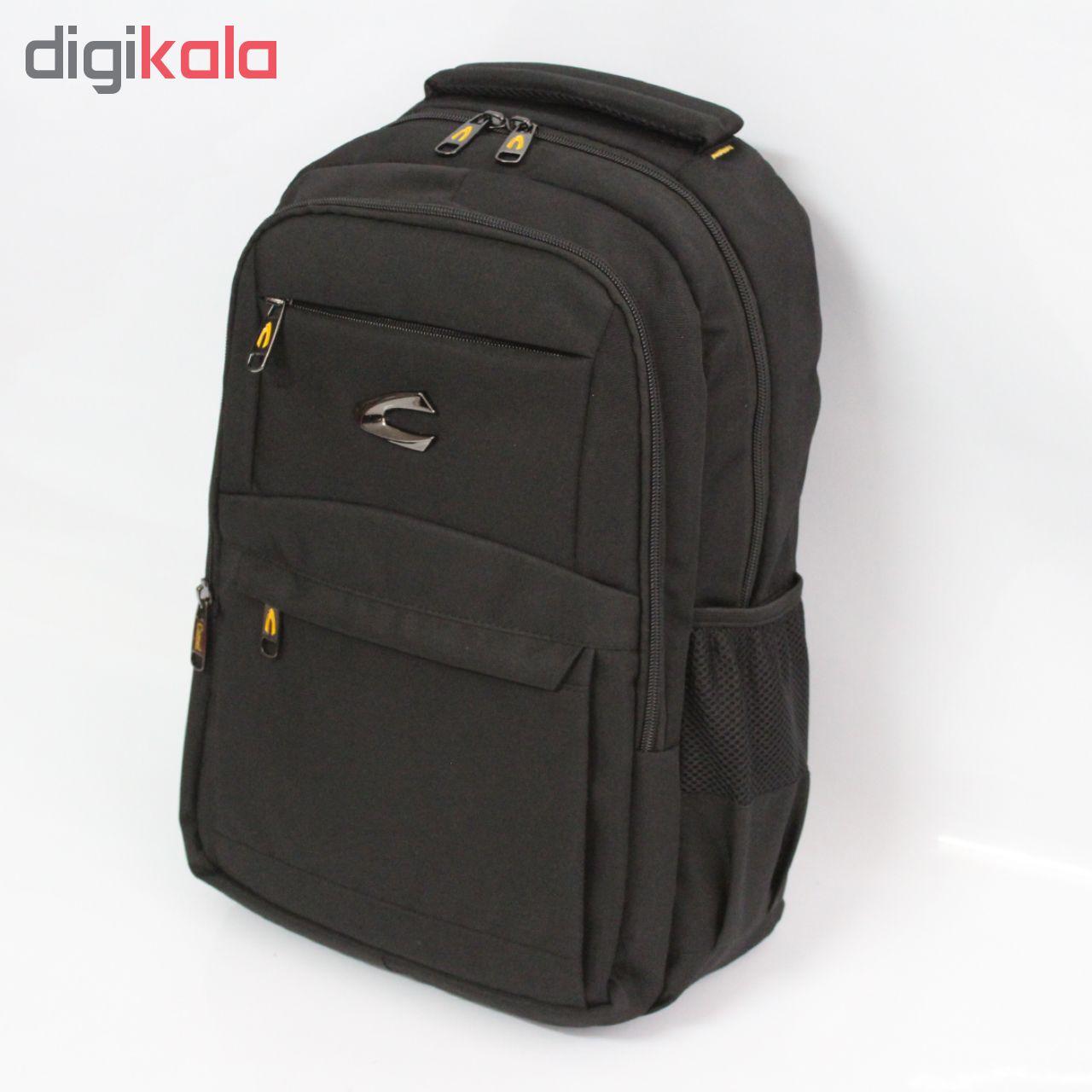کوله پشتی لپ تاپ کمل مدل P1052 مناسب برای لپ تاپ 15 اینچی