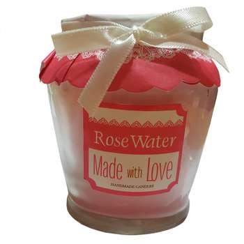 شمع مدل ROSE WATER
