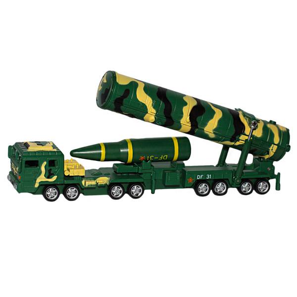 ماشین بازی طرح کامیون پرتاب موشک militarist مدل DF-31A