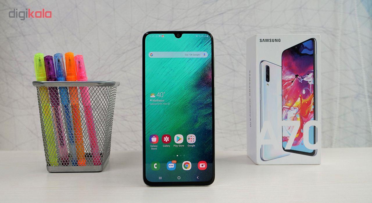 گوشی موبایل سامسونگ مدل Galaxy A70 SM-A705FN/DS دو سیمکارت ظرفیت 128 گیگابایت main 1 11