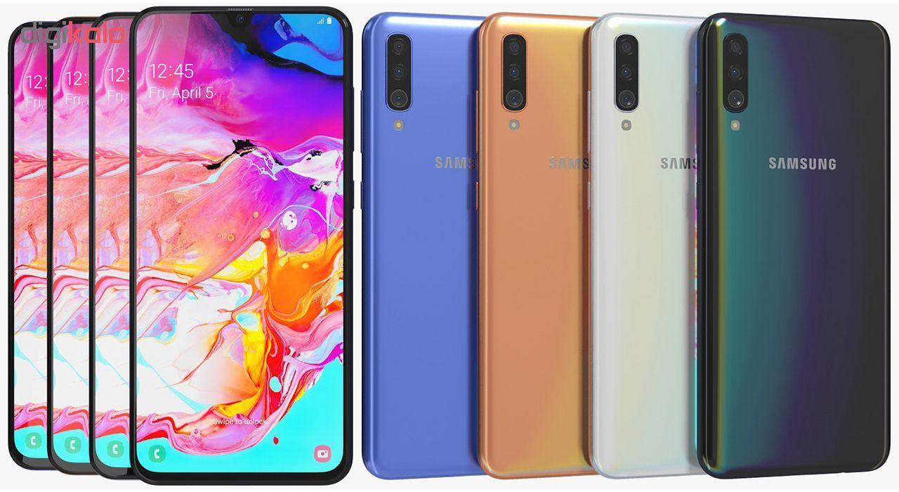 گوشی موبایل سامسونگ مدل Galaxy A70 SM-A705FN/DS دو سیمکارت ظرفیت 128 گیگابایت main 1 6