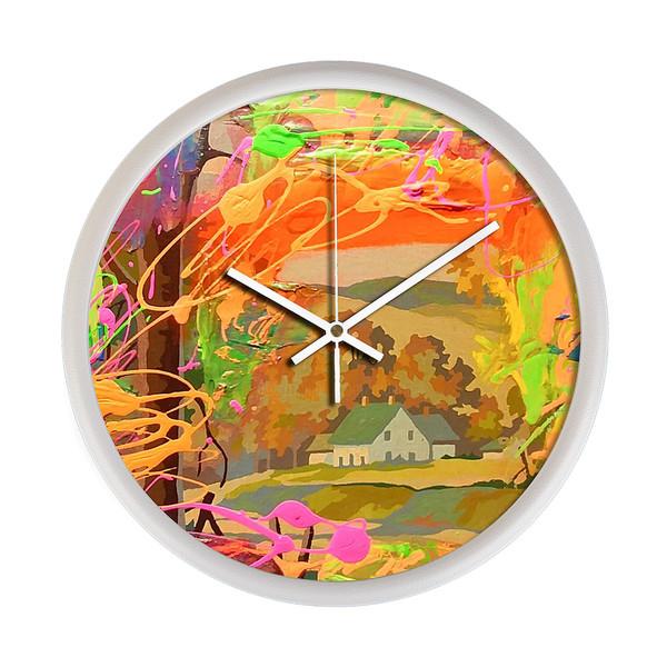ساعت دیواری مینی مال لاکچری مدل 35Dio3_0497
