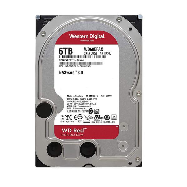 هارد دیسک اینترنال وسترن دیجیتال مدل  WD60EFAX ظرفیت 6 ترابایت