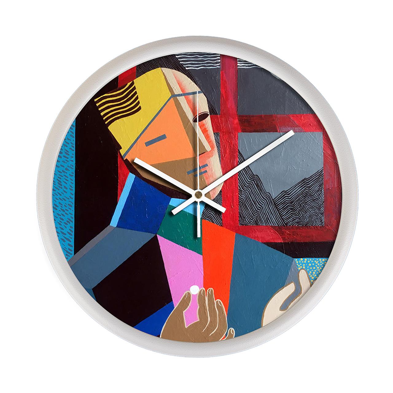 ساعت دیواری مینی مال لاکچری مدل 35Dio3_0503