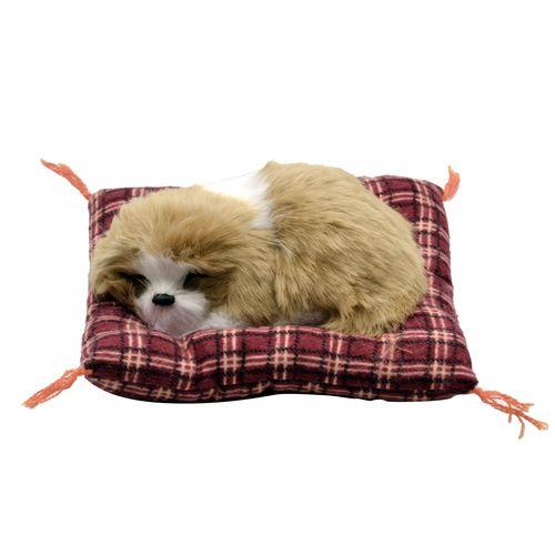 عروسک طرح سگ خوابالو کد 3507 طول 14 سانتی متر