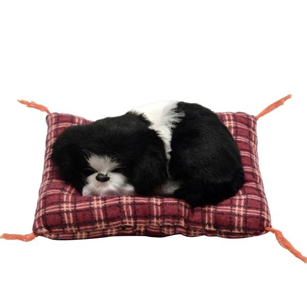 عروسک طرح سگ خوابالو کد 3508 طول 14 سانتی متر