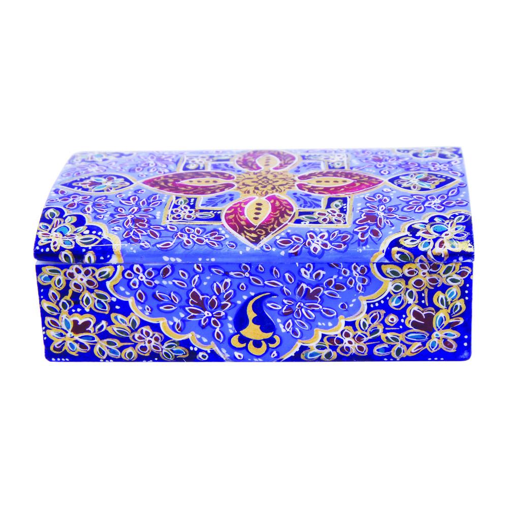 جعبه جواهرات استخوانی طرح تذهیب کد 1568