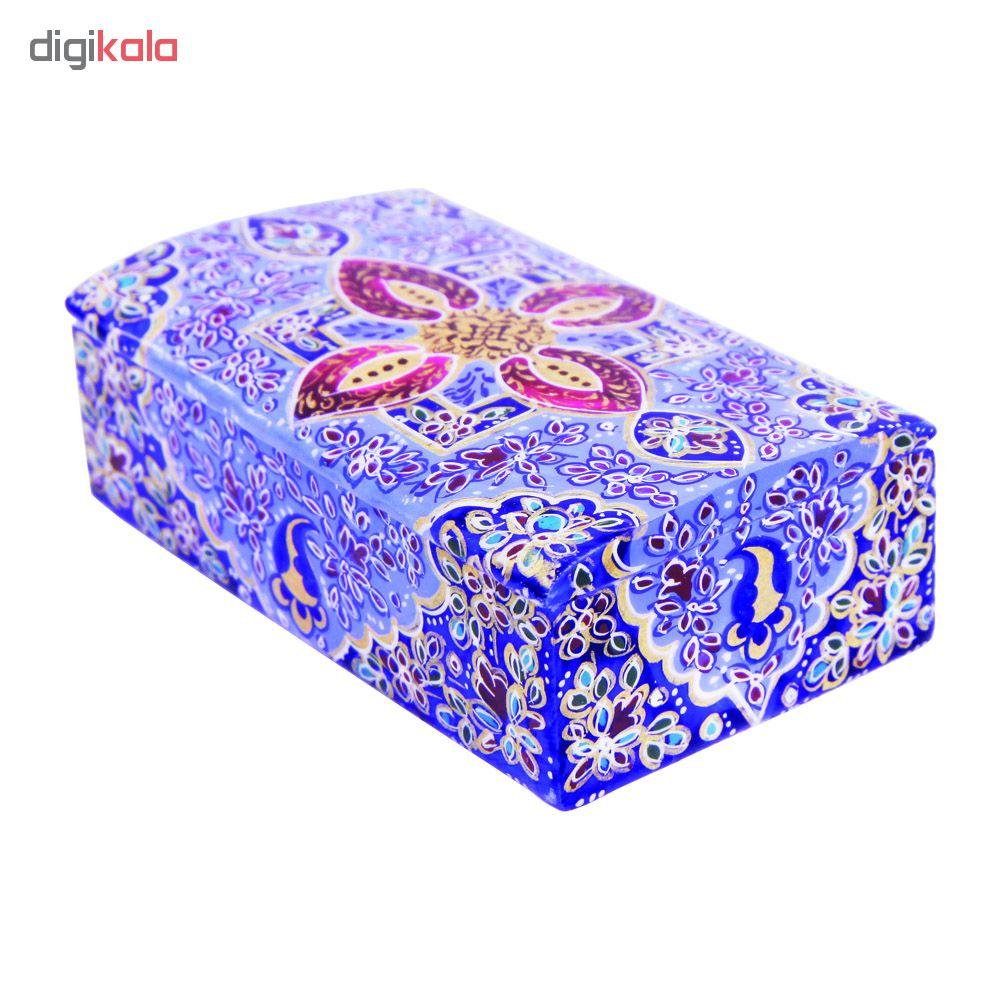 خرید                      جعبه جواهرات استخوانی طرح تذهیب کد 1568