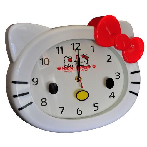 ساعت دیواری کودک طرح کیتی کد 01