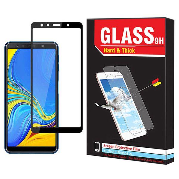 محافظ صفحه نمایش Hard and thick مدل F-01 مناسب برای گوشی موبایل سامسونگ Galaxy A7 2018