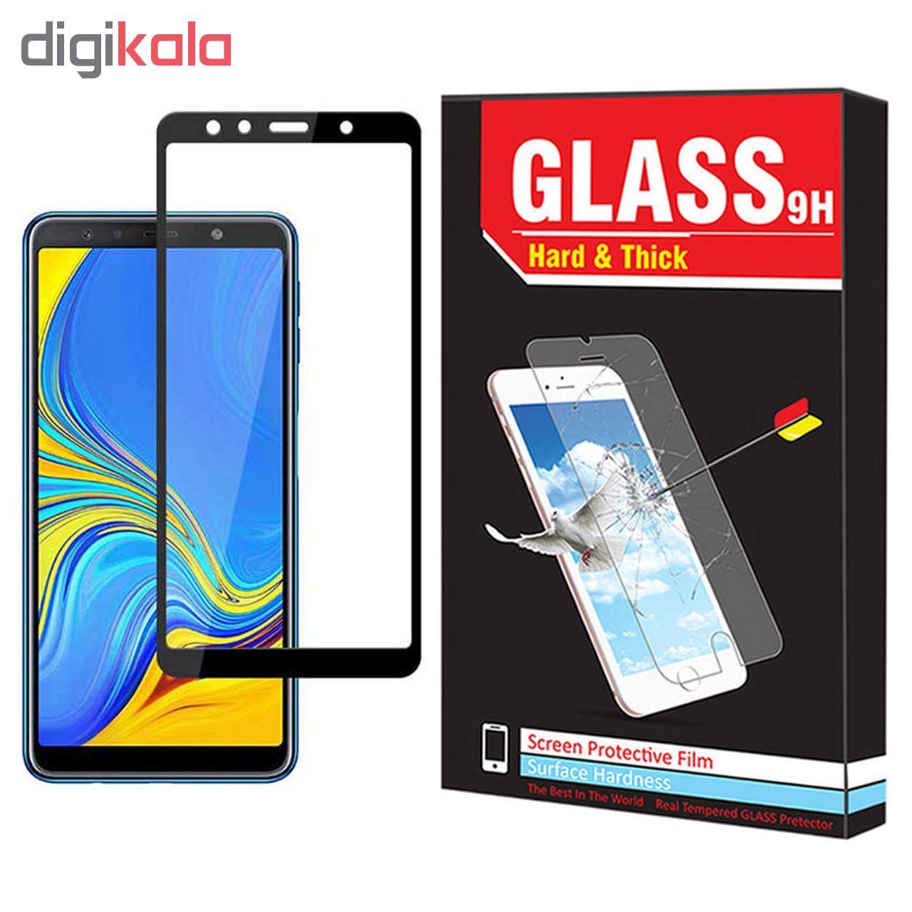 محافظ صفحه نمایش Hard and thick مدل F-01 مناسب برای گوشی موبایل سامسونگ Galaxy A7 2018 main 1 1