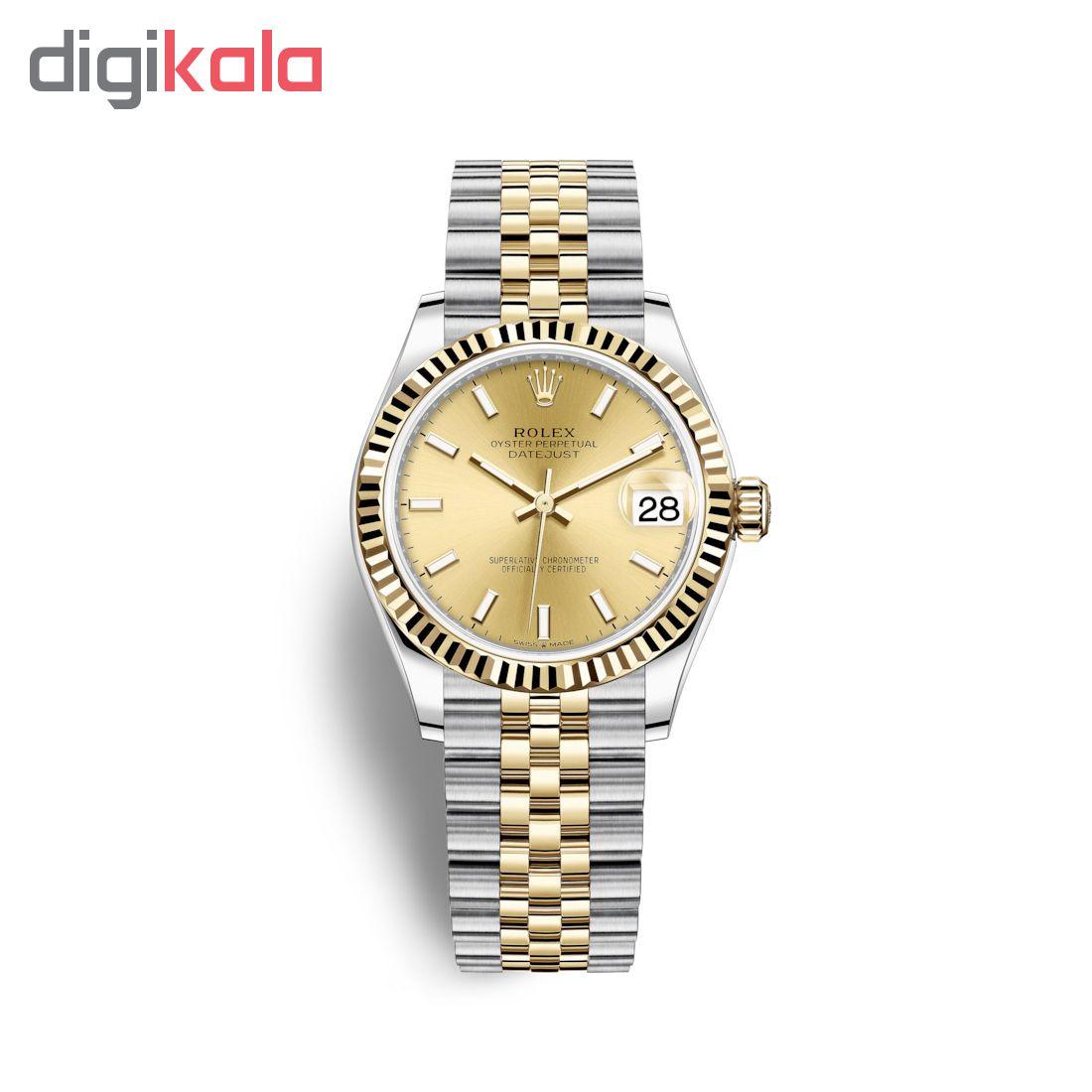 ساعت زنانه برند مدل دیت جاست کد HC2014