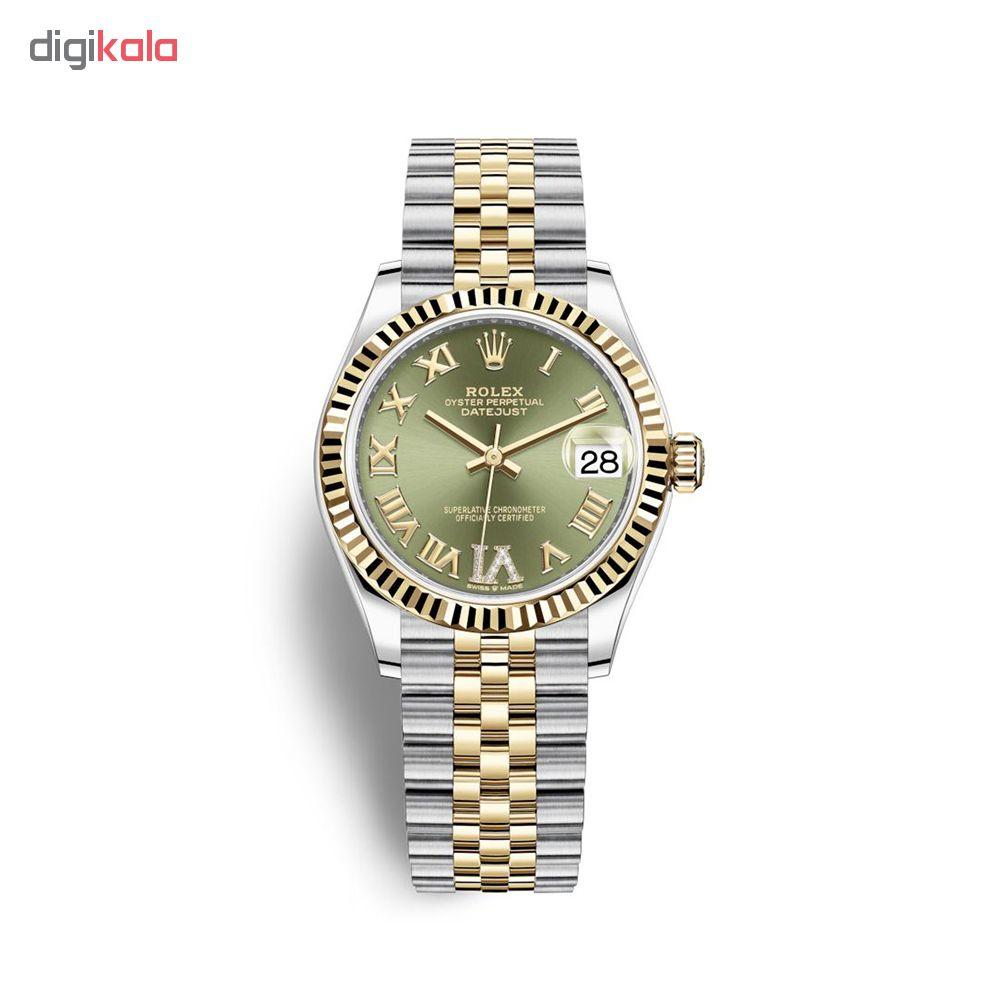 ساعت زنانه برند مدل دیت جاست کد HC2026