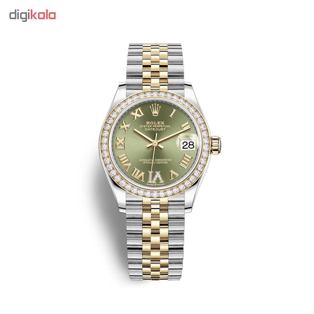 ساعت زنانه برند مدل دیت جاست کد HC2027