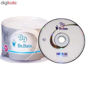 دی وی دی خام دکتر دیتا مدل DR50 بسته 50 عددی