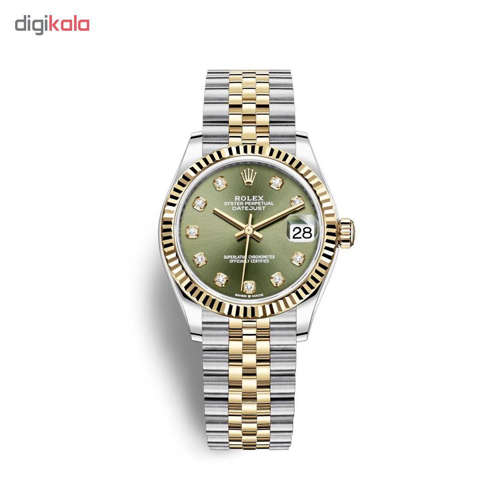 ساعت زنانه برند مدل دیت جاست کد HC2030
