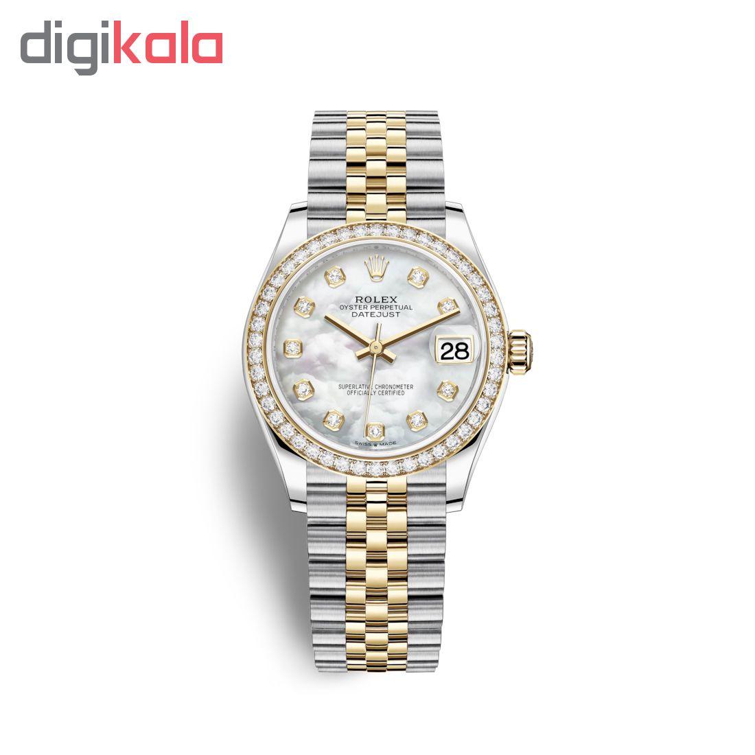 ساعت زنانه برند مدل دیت جاست کد HC2032