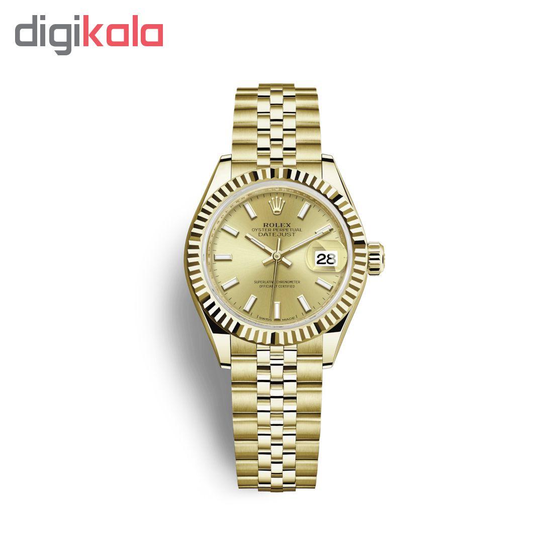 ساعت زنانه برند مدل دیت جاست کد HC2035