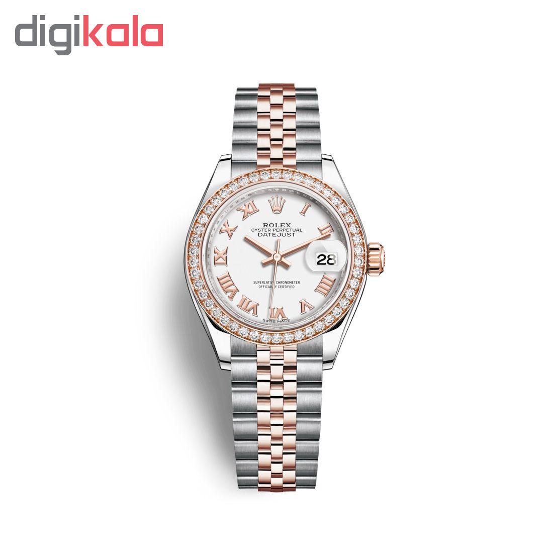ساعت مچی عقربه ای زنانه مدل دیت جاست کد HC2052