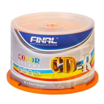 سی دی خام فینال مدل FC50 بسته 50 عددی