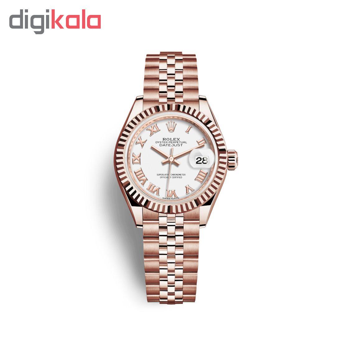 ساعت زنانه برند مدل دیت جاست کد HC2070