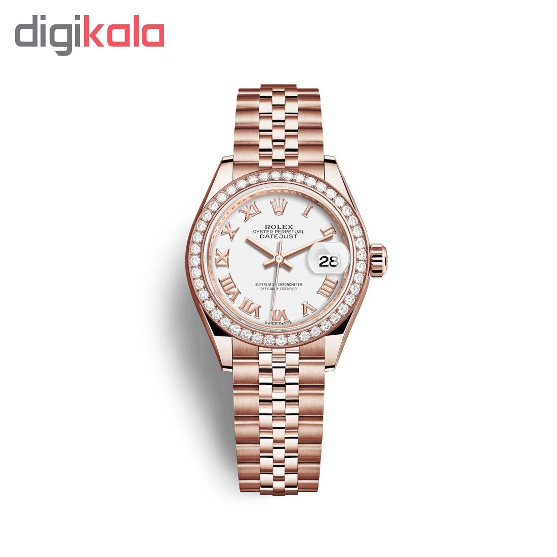ساعت مچی عقربه ای زنانه مدل دیت جاست کد HC2071