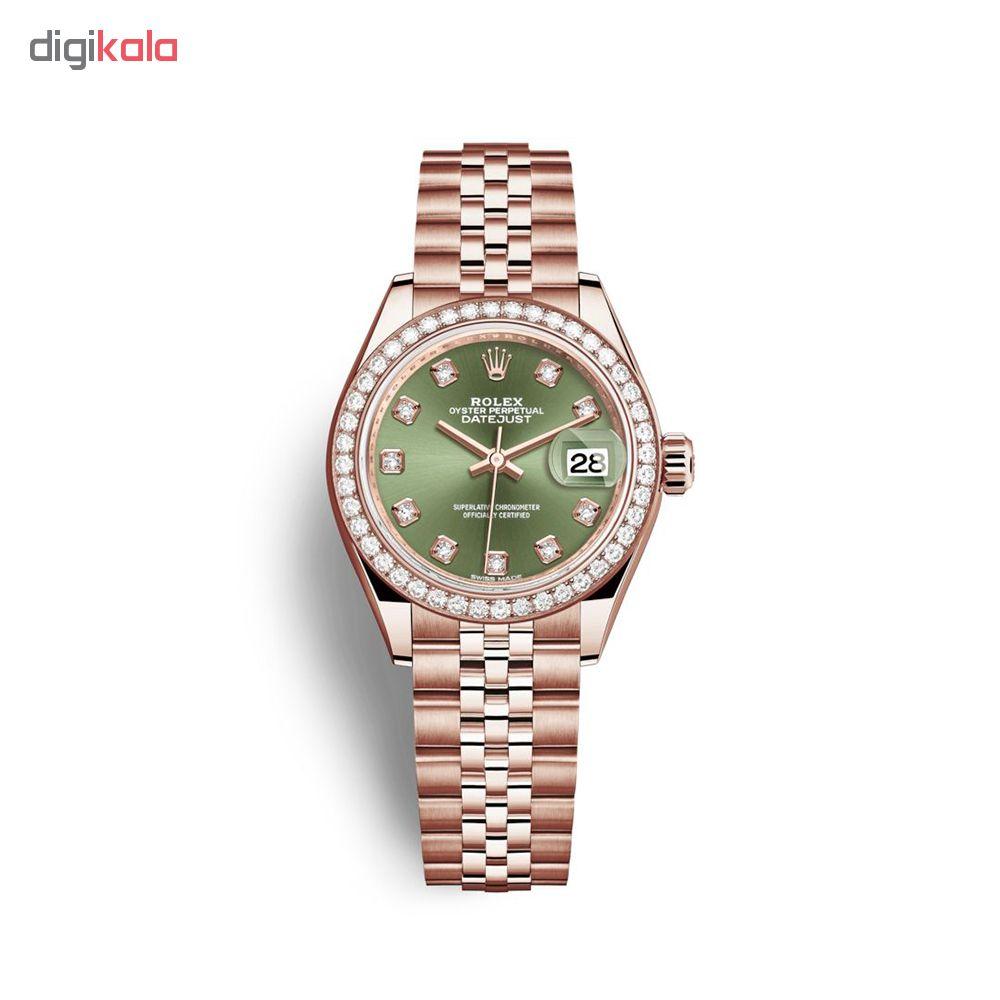 ساعت مچی عقربه ای زنانه مدل دیت جاست کد HC2074