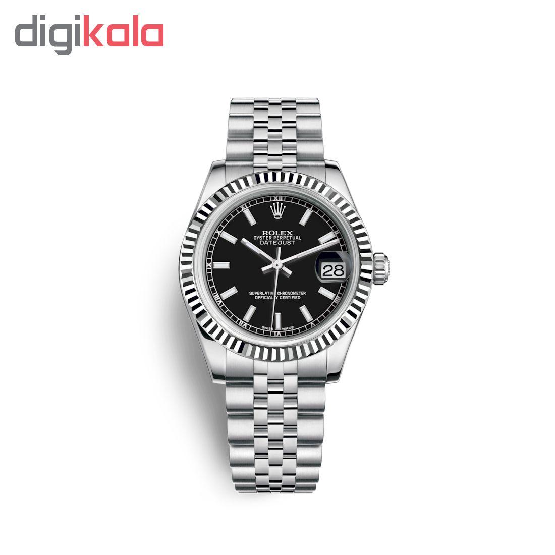 ساعت زنانه برند مدل دیت جاست کد HC2075