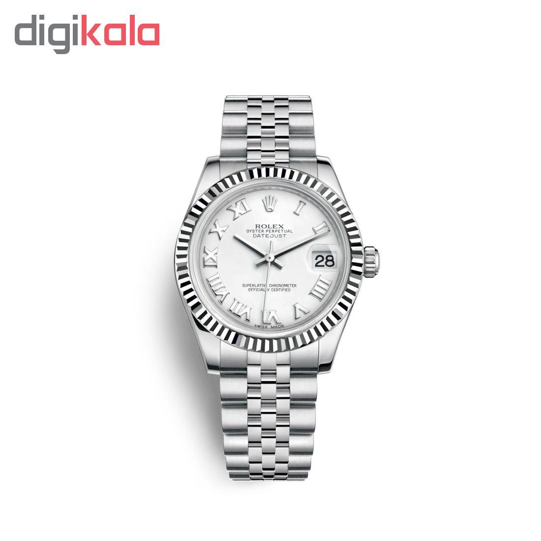 ساعت زنانه برند مدل دیت جاست کد HC2092