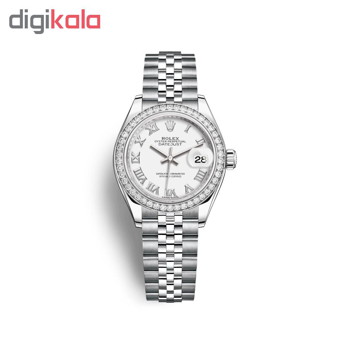 ساعت زنانه برند مدل دیت جاست کد HC2093