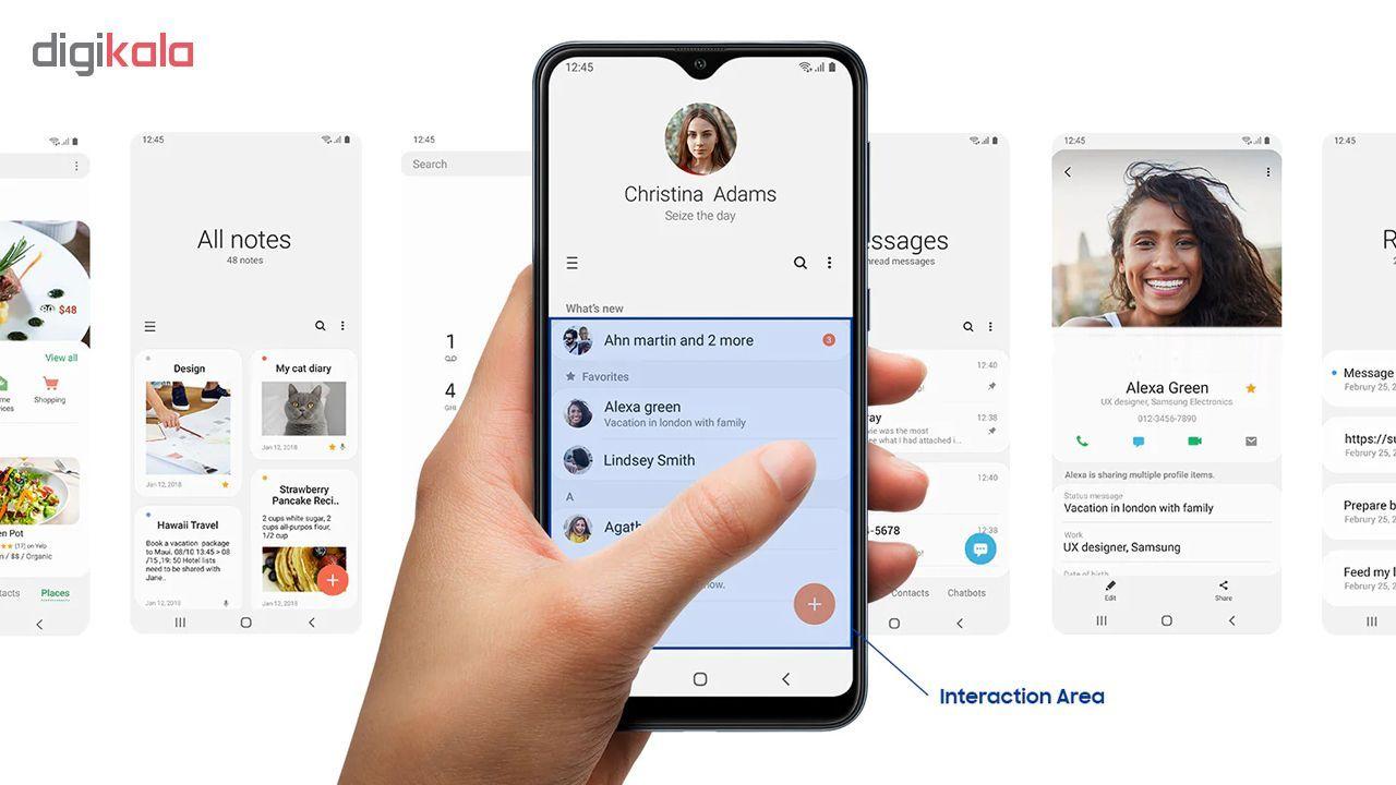 گوشی موبایل سامسونگ مدل Galaxy A10 SM-A105F/DS دو سیم کارت ظرفیت 32 گیگابایت main 1 17