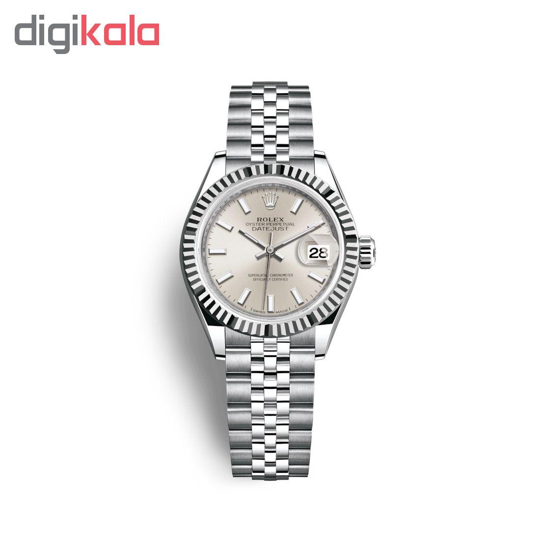 ساعت زنانه برند مدل دیت جاست کد HC2095